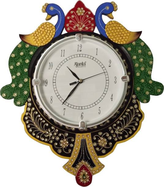 AJANTA Analog 35 cm X 30 cm Wall Clock