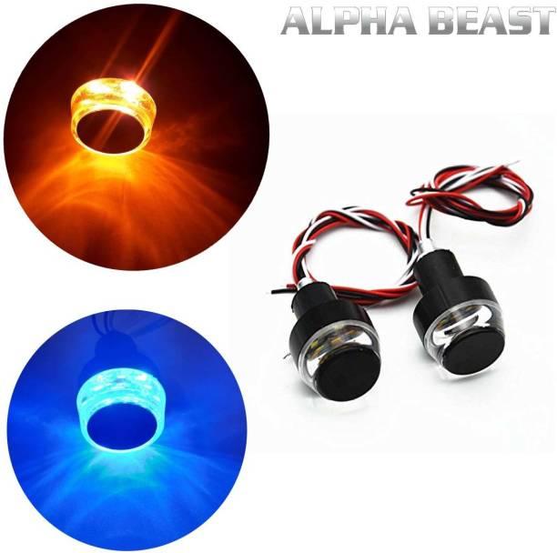 ALPHA BEAST Side, Rear LED Indicator Light for Universal For Bike Universal For Bike