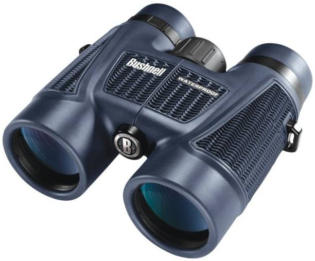 Bushnell H2O Waterproof/Fogproof Roof Prism Binocular, 8 x 42-mm, Blue Binoculars