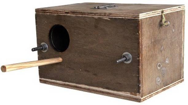 SIDDHARTH FISH FARM Breeding Box for lovebirds zaza zibra ficnches love birds Bird House