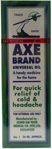 Axe Brand Universal Oil for Quick Relief of Cold & Headache (Singapore) Liquid
