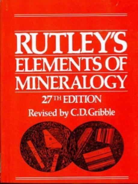 Rutley's Elements of Mineralogy