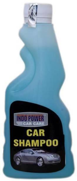 INDOPOWER CAR SHAMPOO 250ml. NEW PACK Swift Dzire,Gypsy (SUV) , WagonR, Mahindra e2o , Hyundai Elite i20,ford eco sport,Innova,Scorpio ETC. Vehicle Interior Cleaner