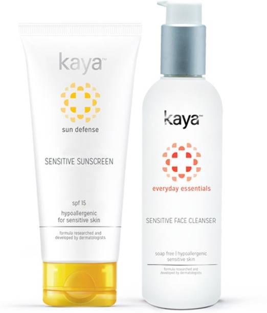 KAYA Combo for Sensitive Skin