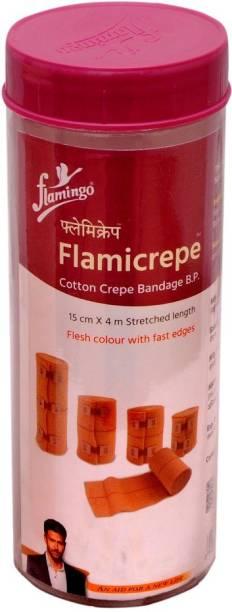 FLAMINGO FLAMICREPE 15CM X 4MT Crepe Bandage