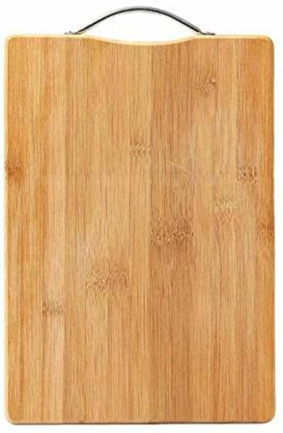Giffy Wooden Chopping Board with Handle,Fruits, Vegetables, Fish, Chicken & Meat …(26 cm x 36 cm) Wooden, Bamboo Cutting Board