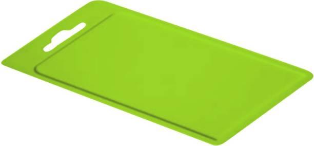 POLYSET All Chop Cutting Board, Green Plastic Cutting Board