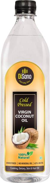 DiSano Cold press Virgin Coconut Oil Coconut Oil Plastic Bottle