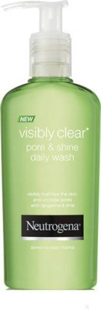 NEUTROGENA visibly clear pore and shine Face Wash
