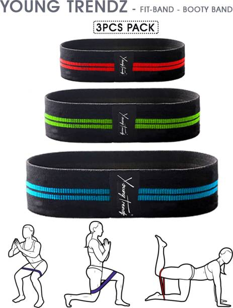 Young Trendz Body Building Fitness Home Exercise Fitness Band