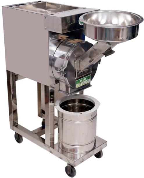 Aura Fully Automatic 2 in 1 Pulveriser/Pulverizer Machine AIFACP Flourmill