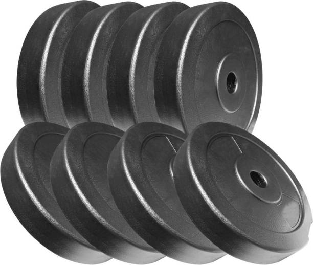 Up Growth 20kg Dumbbell Plates, Weight Plate Set, Gym Plates Black Weight Plate