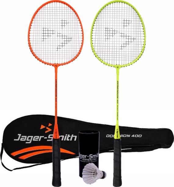 Jager-Smith Dominion 400 & Featherlite 2 Shuttle Badminton Kit