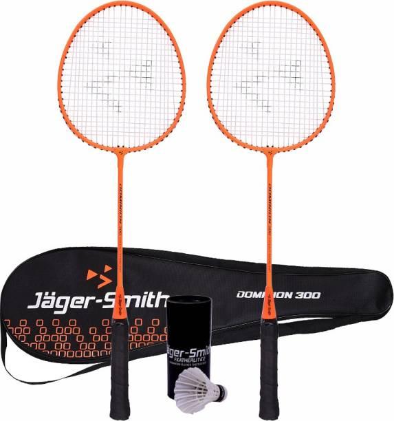 Jager-Smith Dominion 300 & Featherlite 2 Shuttle Badminton Kit