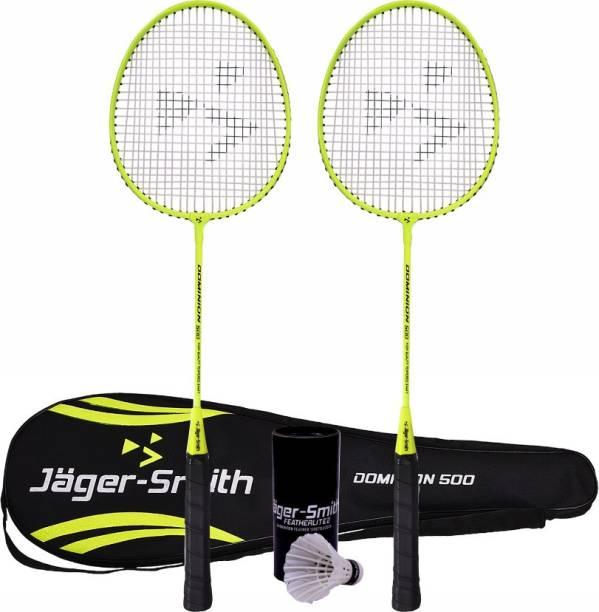 Jager-Smith Dominion 500 & Featherlite 2 Shuttle Badminton Kit