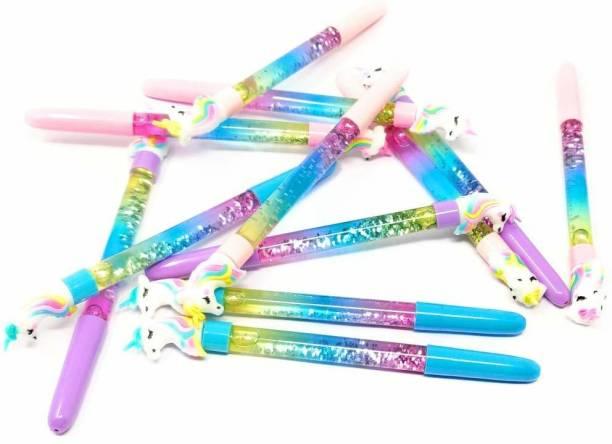 BetterShop Unicorn Glitter Pen Gel Pen