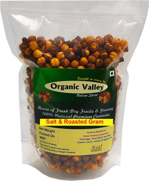 Organic Valley Brown Roasted Bengal Gram (Whole)