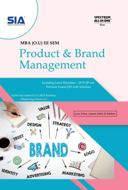 Product And Brand Management, MBA III-Sem (O.U) Marketing Elective-I, As Per The Latest CBCS Syllabus, Low Price 2020-21 Edition