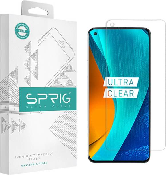 Sprig Tempered Glass Guard for Google Pixel 4a, Google Pixel 4A