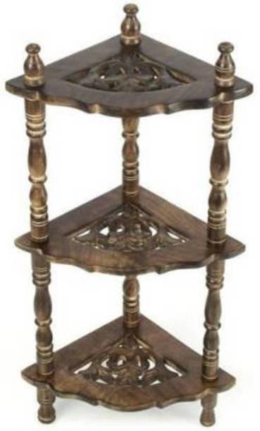Sf Handicraft Solid Wood Corner Table