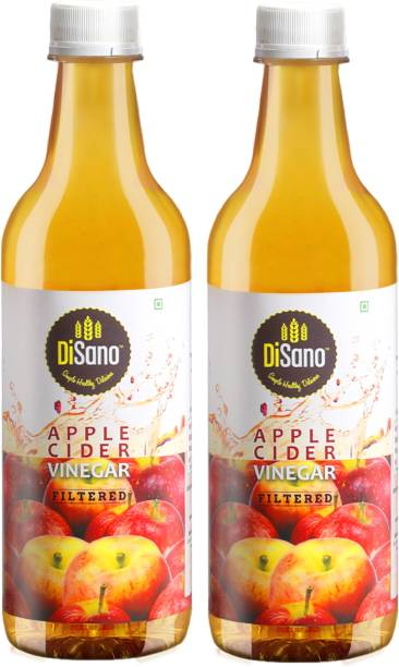 DiSano Apple Cider Vinegar Filtered 500ml (Pack of 2) Vinegar