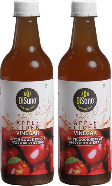 DiSano Apple Cider Vinegar With Mother Vinegar 500ml Each (Pack of 2) Vinegar