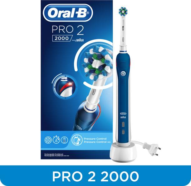 Oral-B Pro 2 2000 Cross Action Electric Rechargeable Electric Toothbrush