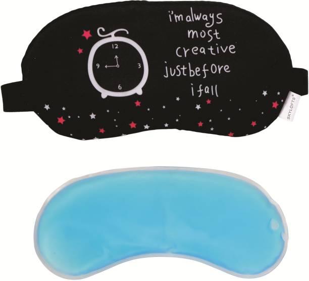 Skylofts Creative Stylish Eye Masks with Ice Pack Sleeping Mask for Travelling