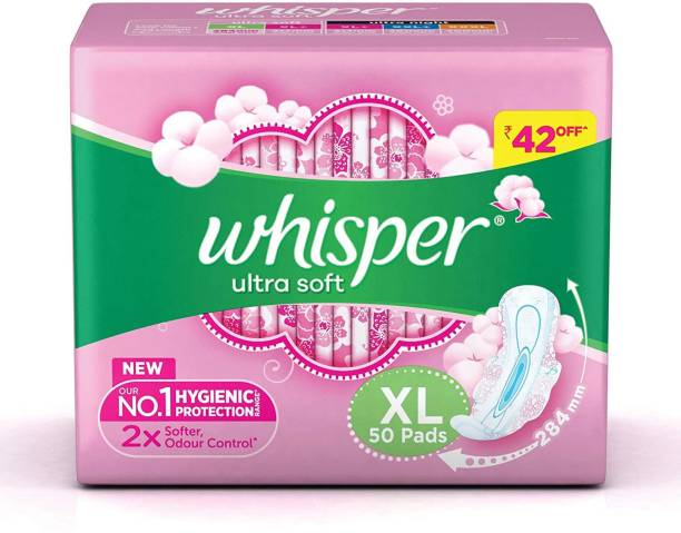 Whisper Ultra Soft XL Sanitary Pad