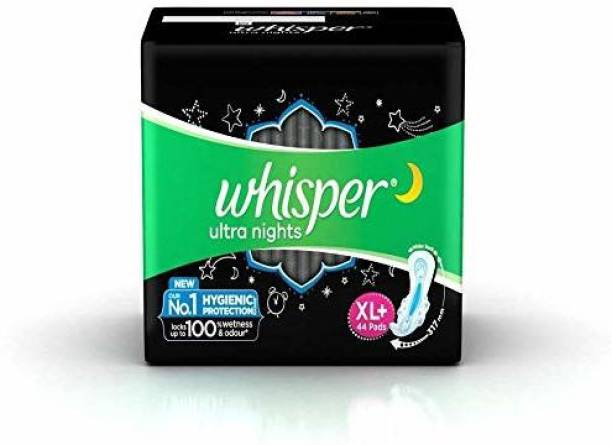 Whisper Ultra Night Sanitary pads XL Plus - 44 pads Sanitary Pad