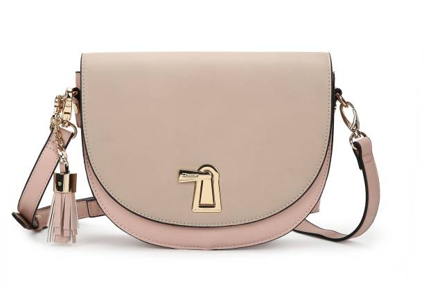 Dune London Beige, Pink Sling Bag