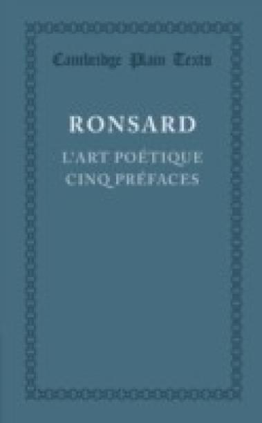 L'art poetique cinq prefaces