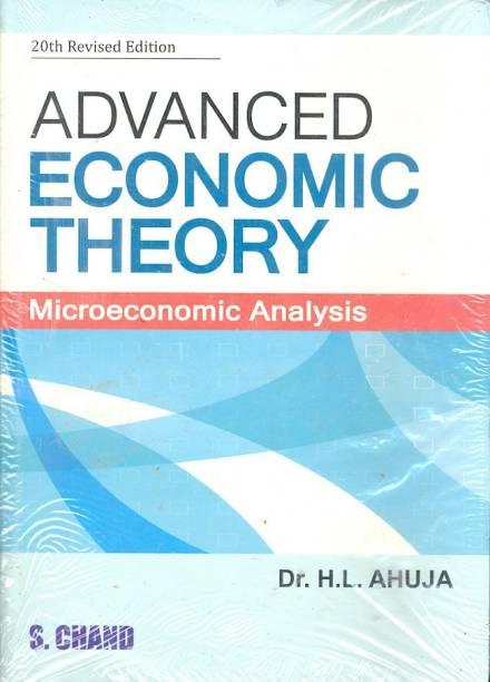 Advanced Economic Theory - Microeconomic Analysis