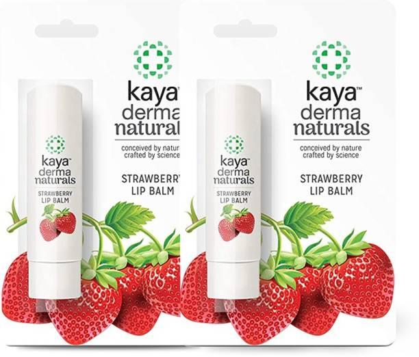 KAYA Strawberry Lip Balm (Pack Of 2)