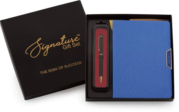 Signature 2021 Frisco Diary Giftset with Cello Origin Ball Pen - A5 Diary Ruled 335 Pages