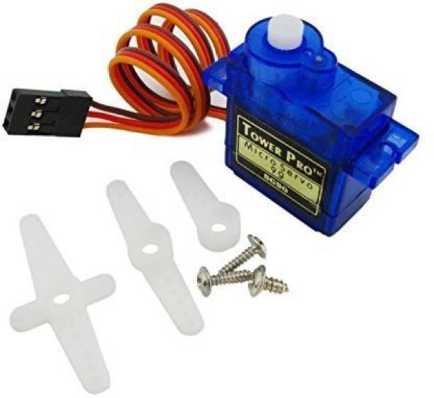 ACDC SG90 Servo Motor Plastic Gear Motor Control Electronic Hobby Kit