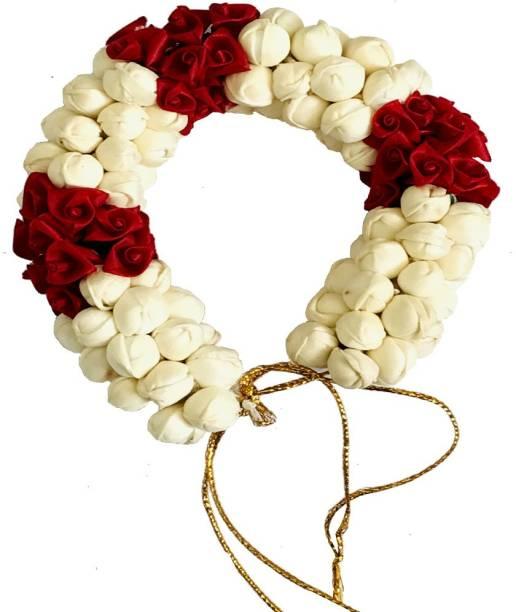 GadinFashion Artificial Flower and Mogra Gajra Juda/Accessories Bun For Women, Grils Bun