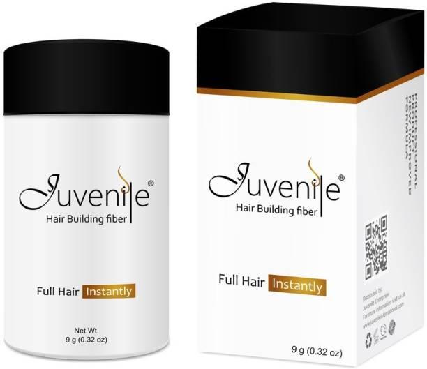 Juvenile Hair Fiber Hair Volumizers Hair Building Fiber Black JVNLHFBL9 Extreme Hair Volumizer Hair Building Fiber