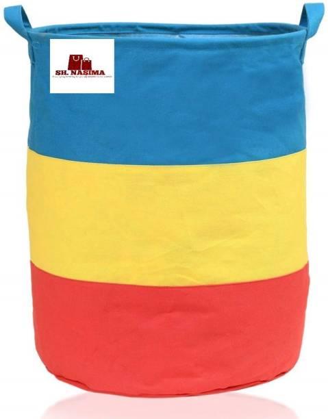 SH NASIMA MANUFACTURER 45 L Multicolor Laundry Stool/Storage