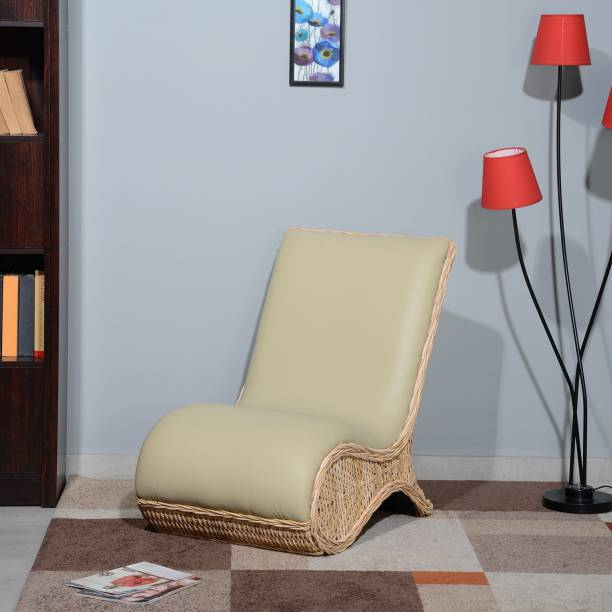 @home by Nilkamal Ritzy Cane Living Room Chair