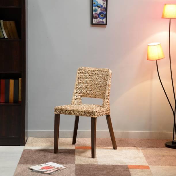 @home by Nilkamal Mahi Cane Living Room Chair