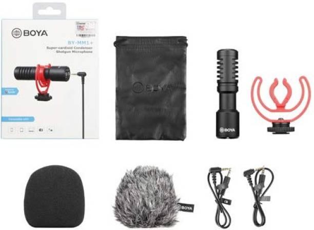 BOYA BY-MM1+ Super-Cardioid Shotgun Microphone Microphone