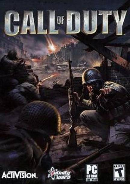 Call of duty game ( for PC ) ( 1 DVD In The Box ) (standard)
