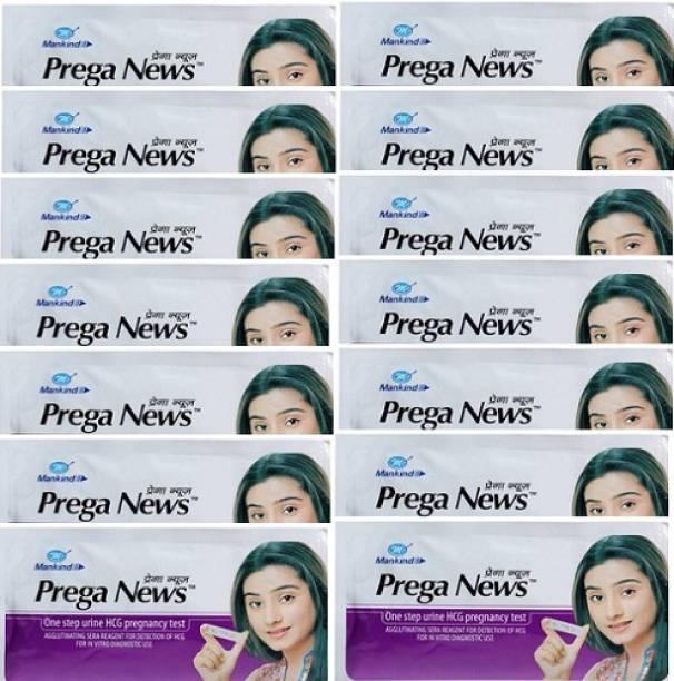 PREGANEWS Preganews Kit 14pieces HCG Pregnancy Kit Pack Of 14# Digital Pregnancy Test Kit