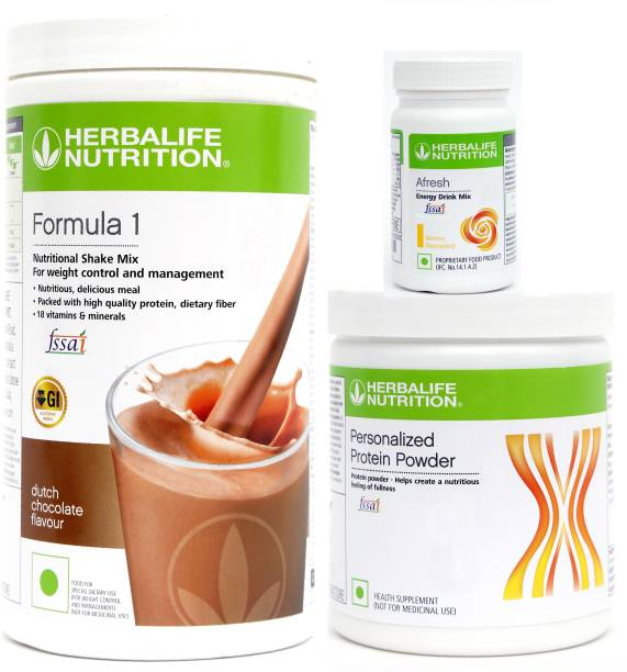 HERBALIFE Weight Loss Combo -3 Plant-Based Protein