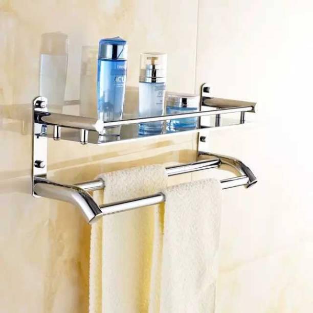 GLOXY by GLOXY STEEL TOWEL HOLDER 2 STEEL Towel Holder