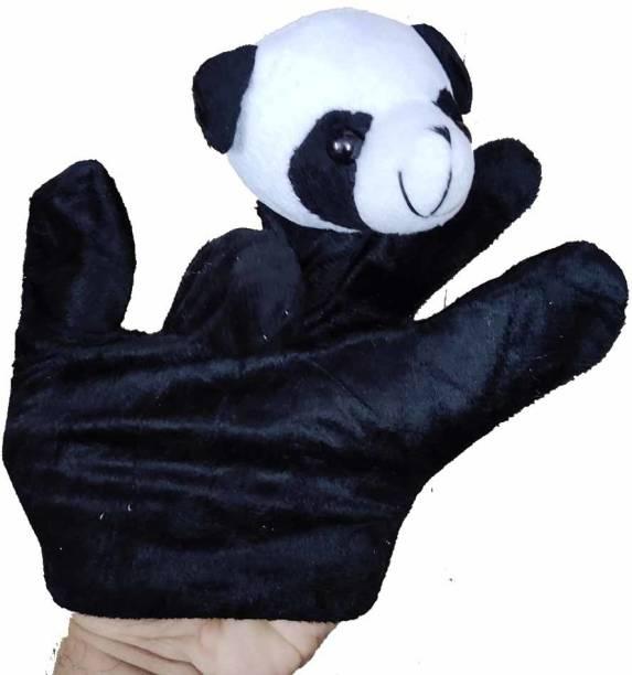Shoppernation Cute Panda Design Kids Hand Puppet Toy Hand Puppets