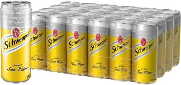 Schweppes (Tonic Water, Pack of 24) Can