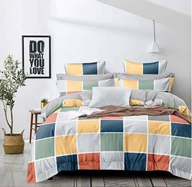 BEDD 200 TC Cotton King Printed Bedsheet
