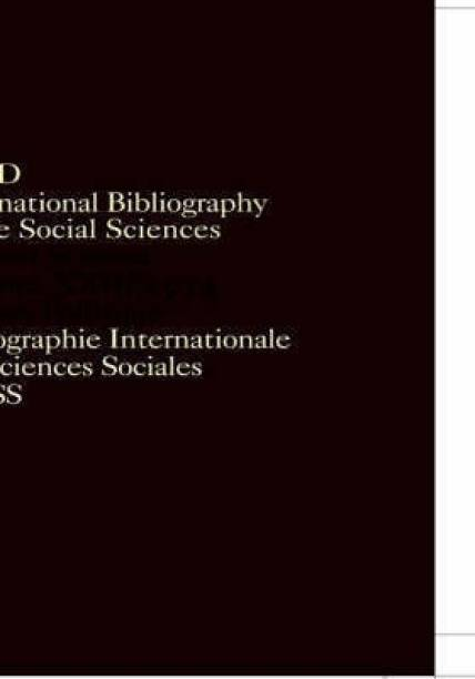 IBSS: Political Science: 1974 Volume 23